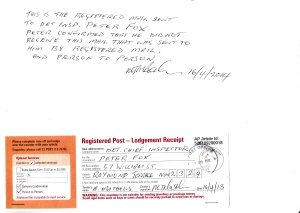 guaranted registered mail