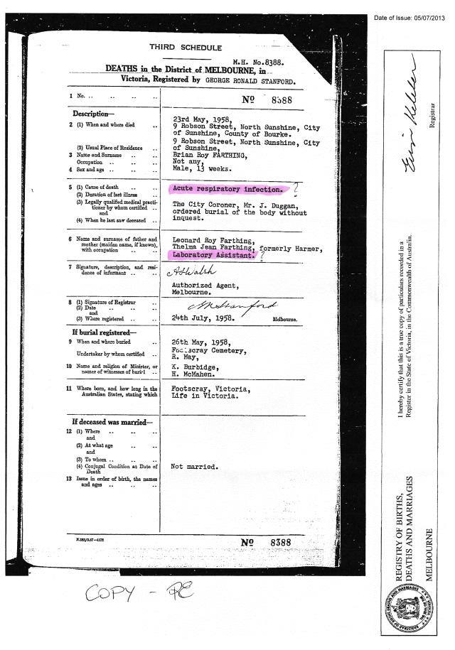 death certificate 1